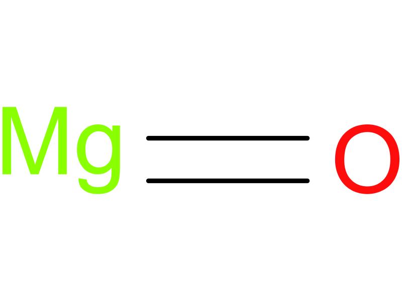 Magnesium Oxide Structure : Magnesium oxide